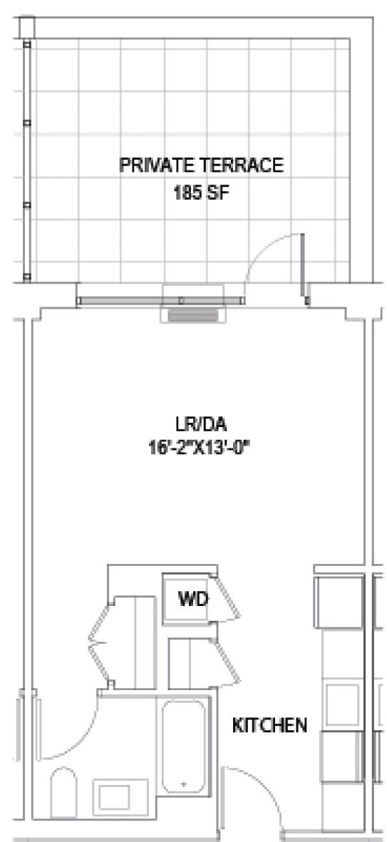 Studio G w/Terrace