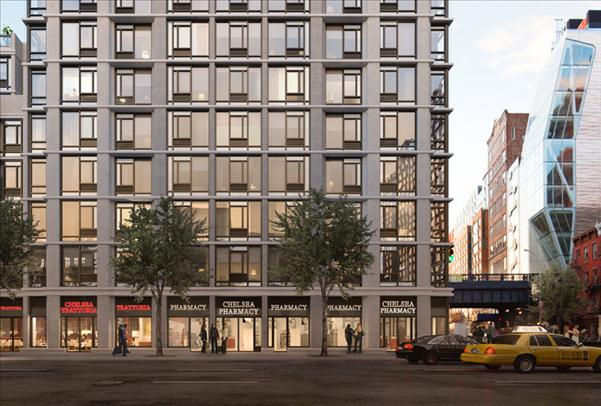 nyc apartments: chelsea 2 bedroom apartment for rent